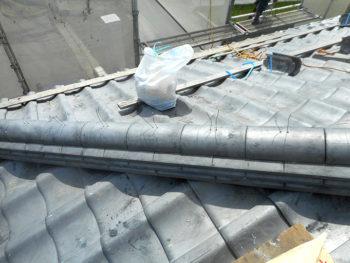 南国市 G様邸 棟修理工事事例